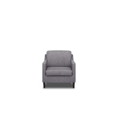 Decker Armchair Upholstery: Flannel Grey