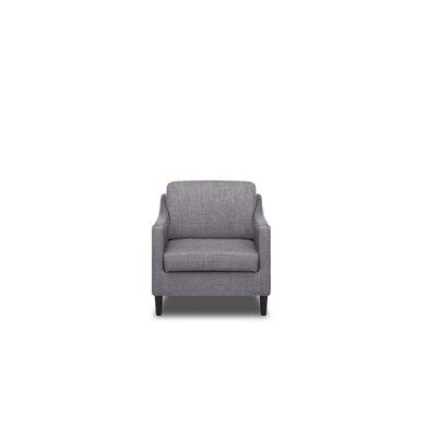 Decker Armchair Color: Flannel Grey