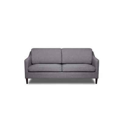 Decker Sofa Upholstery: Flannel Grey
