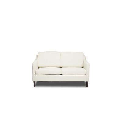 Decker Loveseat Upholstery: Glacier