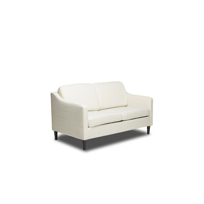 Decker Loveseat Color: Glacier