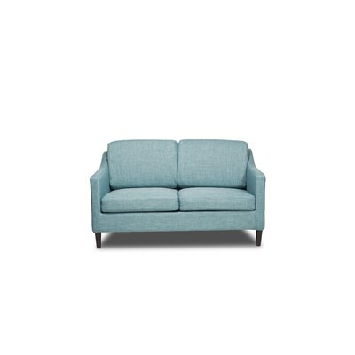 Decker Loveseat Upholstery: Sea Foam