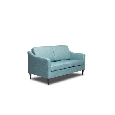 Decker Loveseat Color: Sea Foam