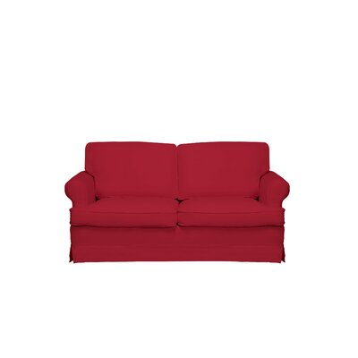 Spencer Sofa Color: Red
