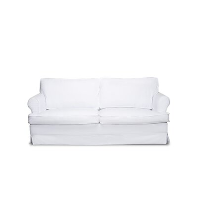Spencer Sofa Color: White