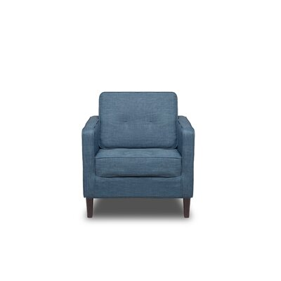 Franklin Armchair Color: Aqua