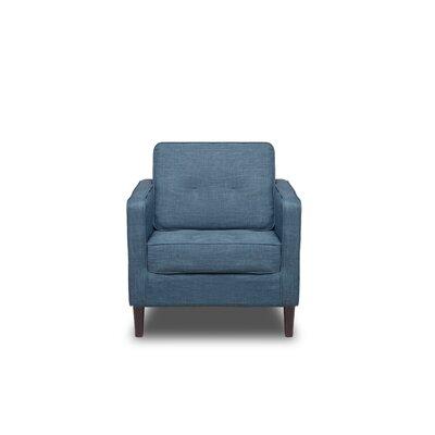 Franklin Armchair Upholstery: Aqua