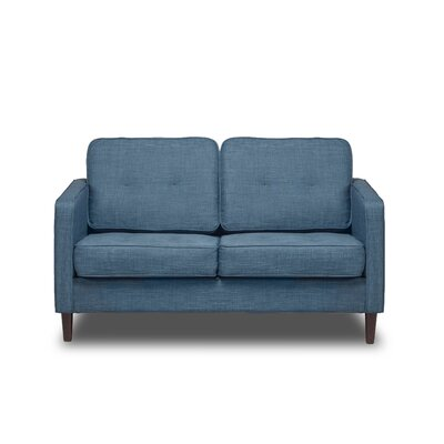 Franklin Loveseat Color: Aqua