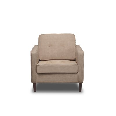 Franklin Armchair Upholstery: Buckwheat