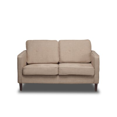 Franklin Loveseat Color: Buckwheat