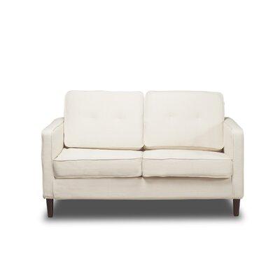 Franklin Loveseat Upholstery: Glacier