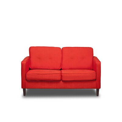 Franklin Loveseat Color: Safron