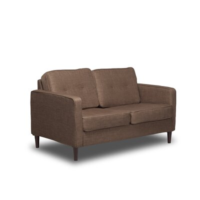 Franklin Loveseat Color: Sandstone