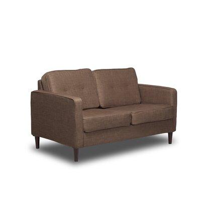 Franklin Loveseat Upholstery: Sandstone