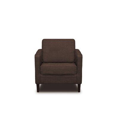 Hamilton Armchair Upholstery: Coffee
