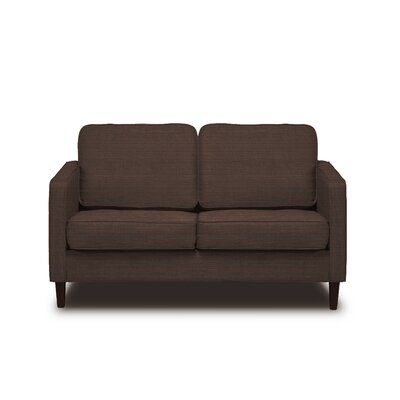 Hamilton Loveseat Upholstery: Coffee