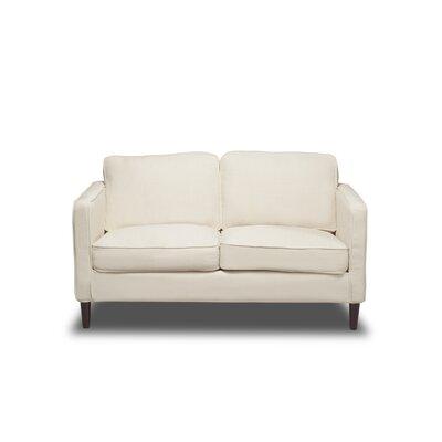 Hamilton Loveseat Upholstery: Glacier