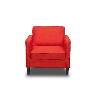 Hamilton Armchair Upholstery: Safron
