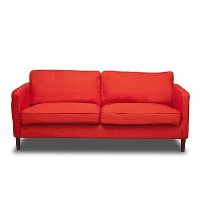 Hamilton Sofa Upholstery: Safron