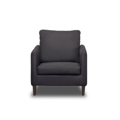Crosby Armchair Upholstery: Charcoal