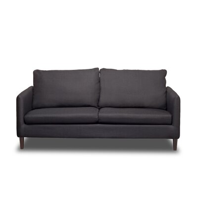 Crosby Sofa Upholstery: Charcoal