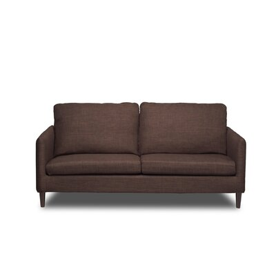 Crosby Sofa Upholstery: Coffee