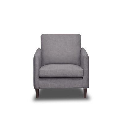 Crosby Armchair Upholstery: Flannel Grey