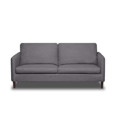 Crosby Sofa Upholstery: Flannel Grey