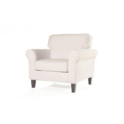 Walton Armchair Upholstery: Cream