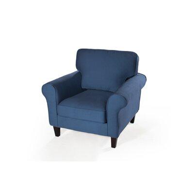 Walton Armchair Upholstery: Harbor Blue
