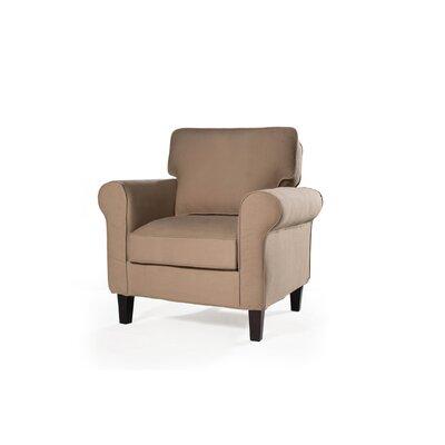 Walton Armchair Upholstery: Khaki