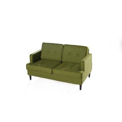 Durham Loveseat Upholstery: Lime
