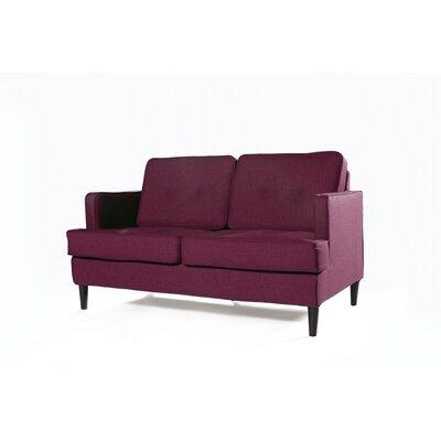 Durham Loveseat Upholstery: Plum