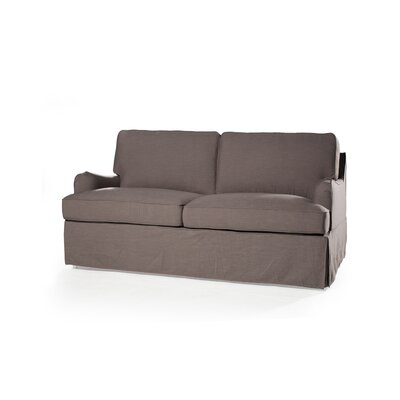 Delaney Loveseat Upholstery: Fog
