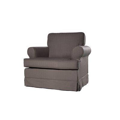 Everett Armchair Upholstery: Dolphin