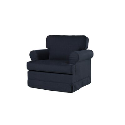 Everett Armchair Upholstery: Midnight