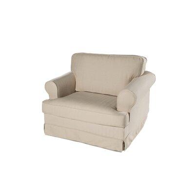 Everett Armchair Upholstery: Ricepaper