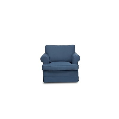 Spencer Armchair Upholstery: Harbor Blue