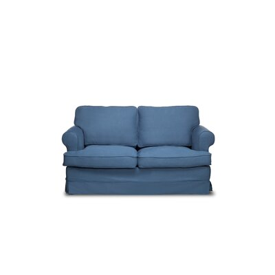Spencer Loveseat Upholstery: Harbor Blue