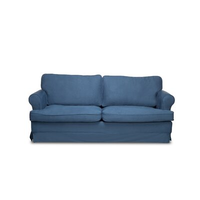 Spencer Sofa Color: Harbor Blue