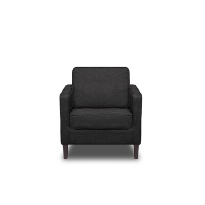 Hamilton Armchair Upholstery: Charcoal