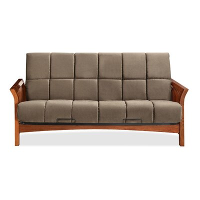 Boston Futon and Mattress Color: Ash