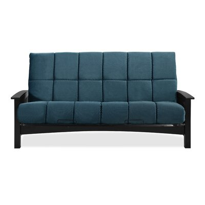 Denver Futon and Mattress Color: Indigo