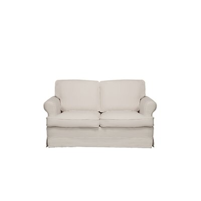 Spencer Loveseat Color: Light Grey