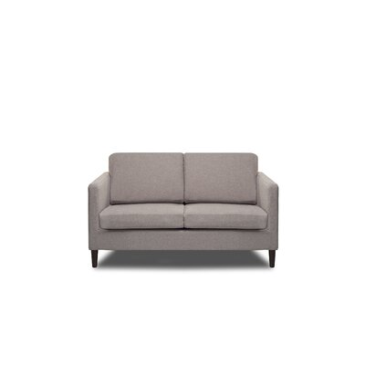 Axis Loveseat Color: Mink
