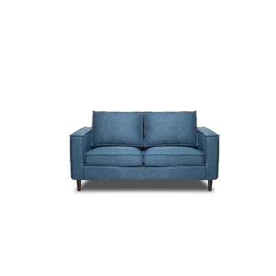 Parlour Loveseat Color: Aqua