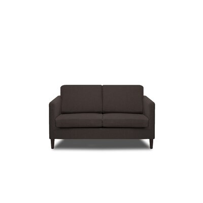 Axis Loveseat Color: Ash Grey