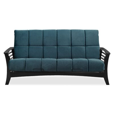 Chicago Futon and Mattress Color: Indigo