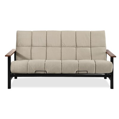 Phoenix Futon and Mattress Color: Biscuit