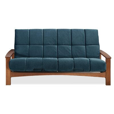 Vancouver Futon and Mattress Color: Indigo